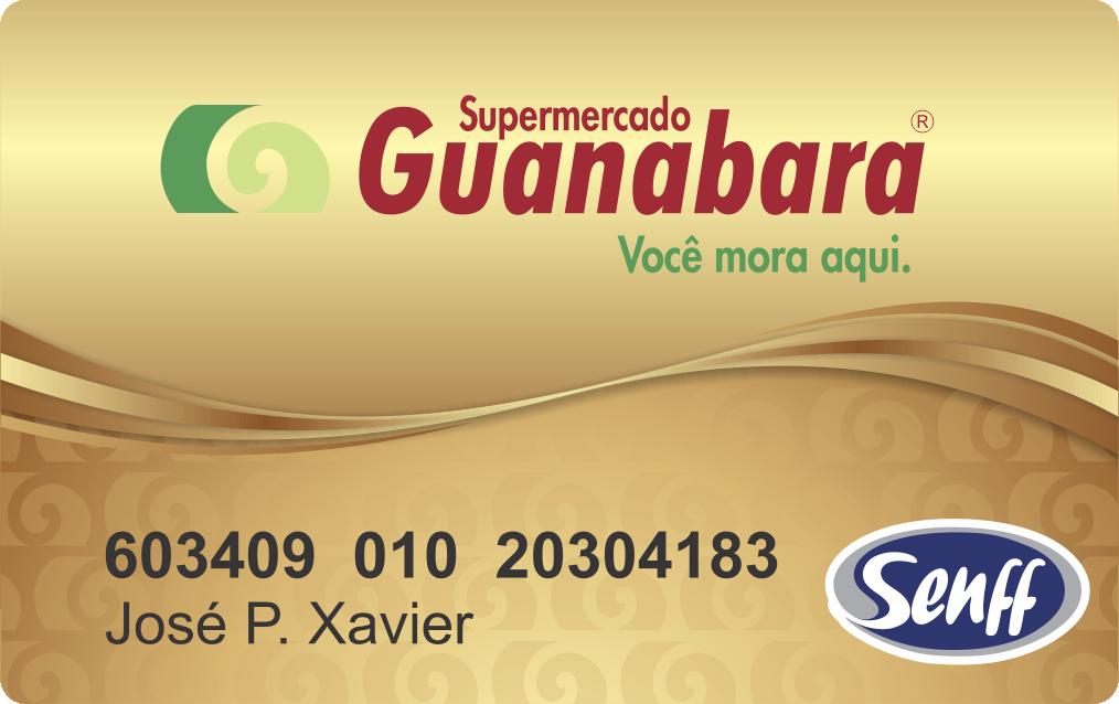 Cartão  Guanabara
